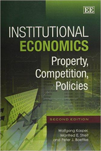 Kinh tế học thể chế: Sở hữu, Cạnh tranh, Chính sách